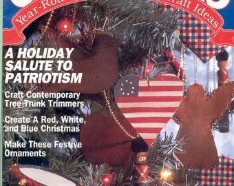 CHRISTMAS Year-Round & Craft Ideas, July/Aug 1991