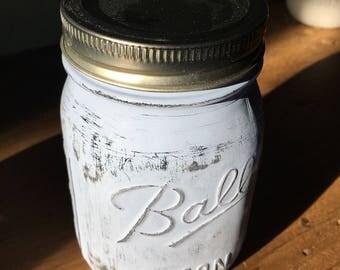 Paver Grey Mason Jar
