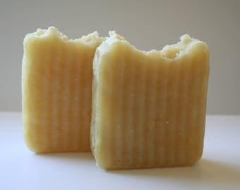 Lemongrass Shea Butter - All Natural Soap Bar