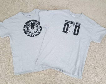 Battlestar Galactica, Star Trek T-shirt