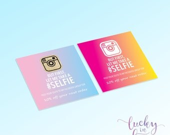 But First, Let Me Take A Selfie Sticker, Stickers, Lipsense, Senegence, Makeup, Logo Branding, Packaging