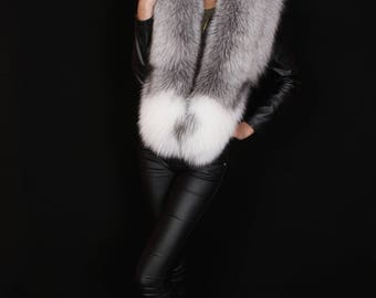 WILD FOX FUR collar