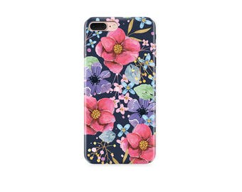 Flowers Phone case iPhone 8 iPhone 6 iPhone 6s Plus iPhone 5 iPhone 5s iPhone SE cover iPhone 8 case iPhone 6 case iPhone 6 Plus floral case