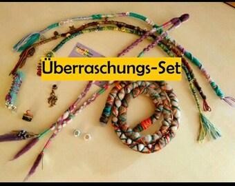 Dreadlock surprise set, dreadwrap, dreadperlen, dreadspirale, Spiralock and much more