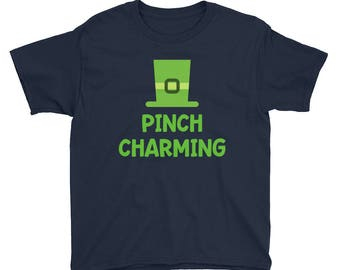 St Patrick's Day Shirt for Boys - Cute St Patrick's Day T-shirt - Saint Patrick's Day Shirt for Boys - St Patty's Day Shirt - Pinch Charming