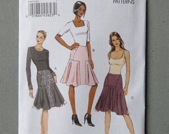 Sewing pattern, skirt, v9031 vogue