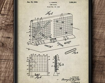 Battleship Game · Vintage · 1933 · Instant Download · Printable #157