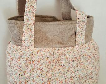 orange yellow liberty reversible purse