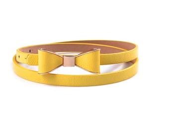 Yellow belt bow tell anyone