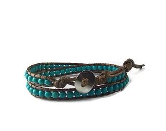 Mens bracelet, men Bohemian bracelet gift, cheap Christmas gift, women gift, beaded wrap bracelet, men women birthday
