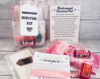 Luxury Bridesmaid & Maid of Honour Survival Kit