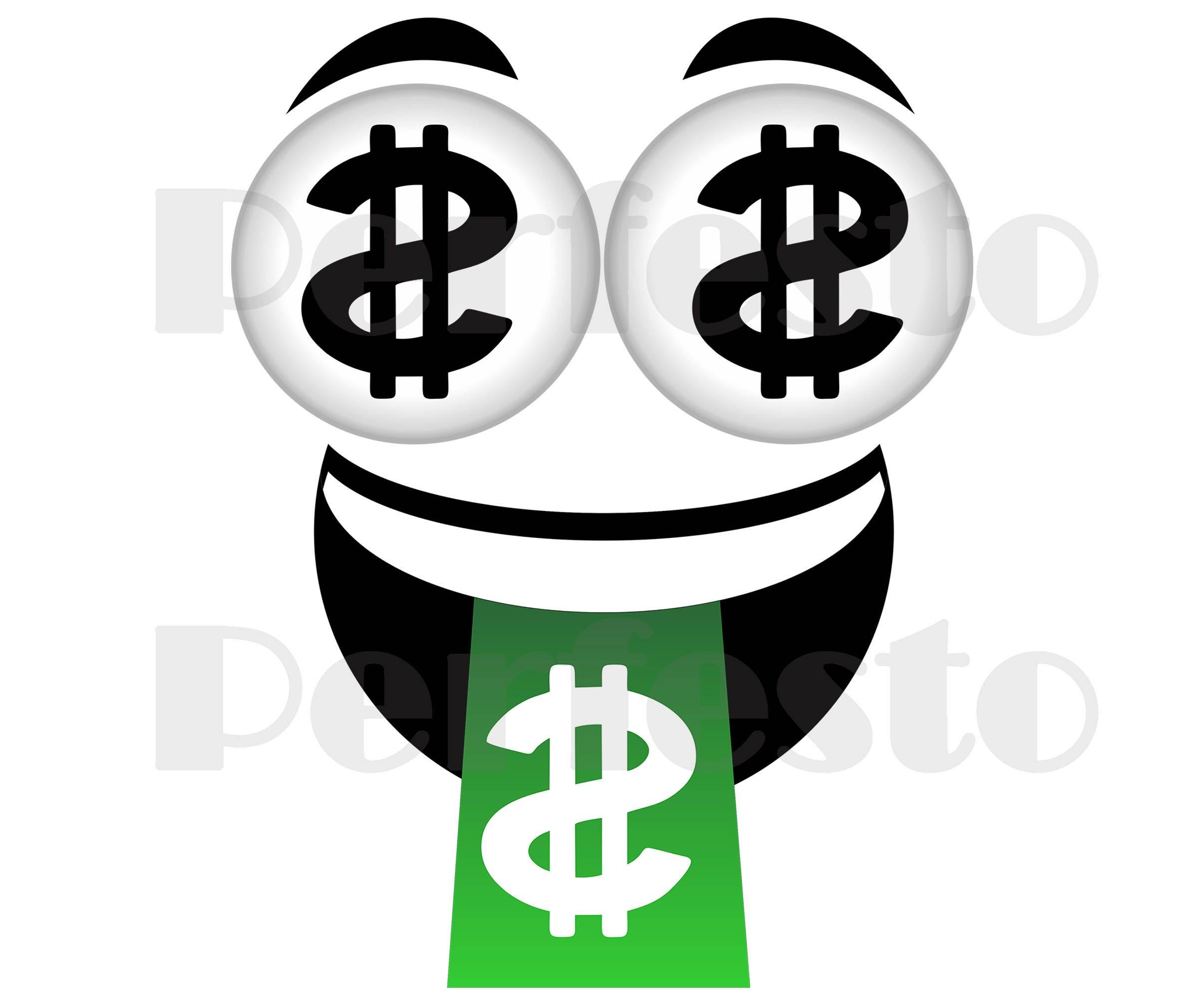 custom printable emoji t shirt emoji iron on transfer money face emoji iron