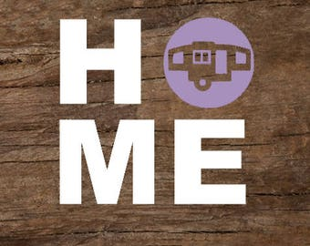 Home Pop-Up Trailer Window Decal