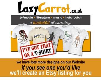 T-SHIRTS: LazyCarrot.co.uk
