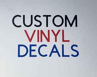 Custom Decal Etsy - Custom vinyl stickers australia the advantages