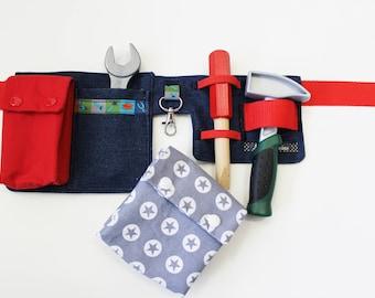 Tool belt Red/grey