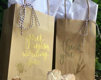 Thank You / Custom Wording Gift Bag