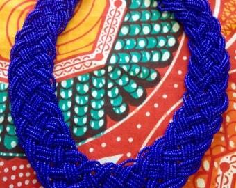 Brazilian bead necklace