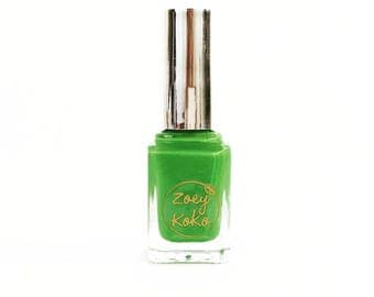 Green with Energy - Non Toxic & Quick Dry Nail Polish