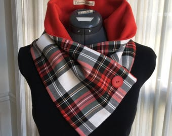 Dress Stewart Tartan Neck Warmer