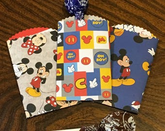 Mickey & Minnie Party Favor Bags - Disney Themed