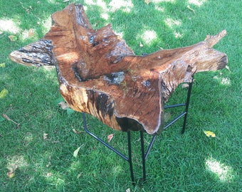Coffe table from OAK root