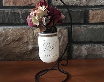 mason jar centerpiece mason jars ivory fall flowers shabby chic small