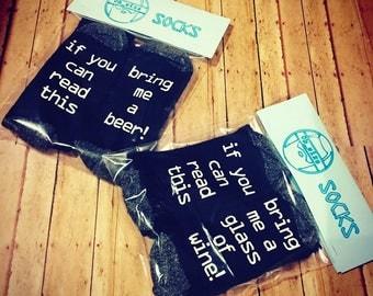 Custom Socks (Message your size)