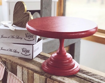 "Valentine's Day Handmade Cake Stand ""The Vivi"""