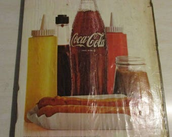 "1966 Coca Cola Advertising from Life Magazine ""Hot Dog Lunch"""