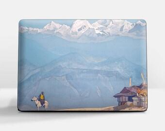 "Laptop skin (Custom size). Nicolas Roerich, ""Remember"". Laptop cover, HP, Lenovo, Dell, Sony, Asus, Samsung etc."