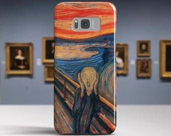 "Edvard Munch, ""The Scream"". Samsung Galaxy S6 Case LG G5 case Huawei P9 Case Galaxy A5 2017 Case and more. Art phone cases."