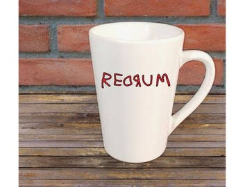 Redrum The Shining Horror Mug Coffee Cup Home Decor Halloween Gift Any Color