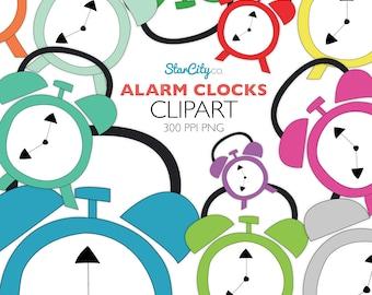 Wecker clipart  Clock clip art | Etsy