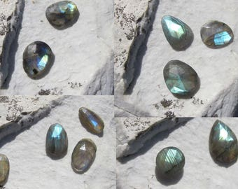 Labradorite Faceted. Lot 11 Pcs. S0910