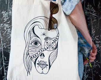 "The ""Psychic"" tote bag"