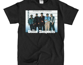 The Usual Suspects Black T-Shirt