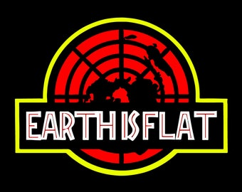 100 x Flat Earth Stickers - Maps, Memes and Slogans! (printed on quality vinyl)