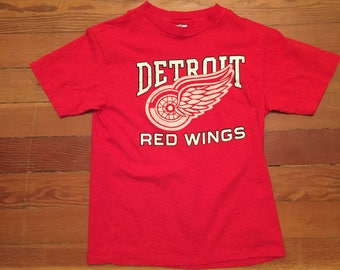 90's NHL Detroit Red Wings T Shirt