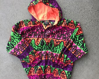 Vintage Neon Colourway Pullover