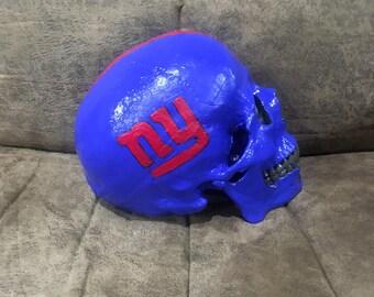 NY Giants Skull