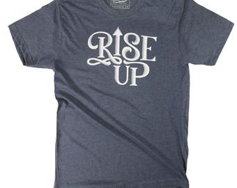 Rise Up Men's Triblend Crew