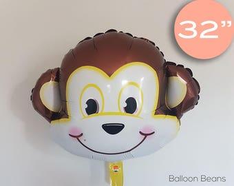 "Monkey Balloons | 32"", kids, birthday party"