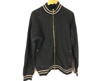 CHAMPION Tech Weave Jackets With Golden Zip and Small Embroidered Logo Large Size Jackets