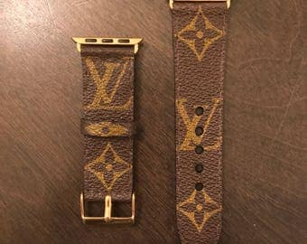 Louis Vuitton Apple Watch band Custom made 38mm and 42mm available