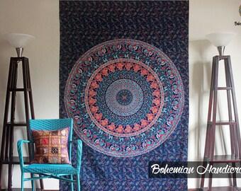 Dorm Decor Boho Tapestry Wall Hanging Mandala Wall Art Wall Tapestries Bohemian Tapestries Hippie Tapestries Elegant Mandala Gypsy Decor