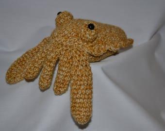 Betty the Cuttlefish crochet pattern//DF pattern//Download//Chameleon//Animal pattern// Crochet pattern//For crocheters