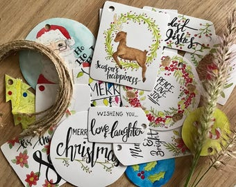 Gift Tags Pack x 15 pieces