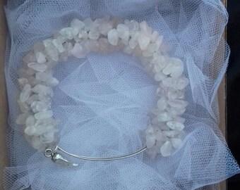 DRAGON bracelet Rose quartz bracelet Jewelry bracelet of naturalstone Energy bracelet Reiki Luxury handmade bracelets for beauty and health