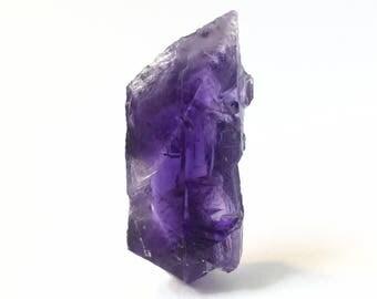 brilliant purple crystal point